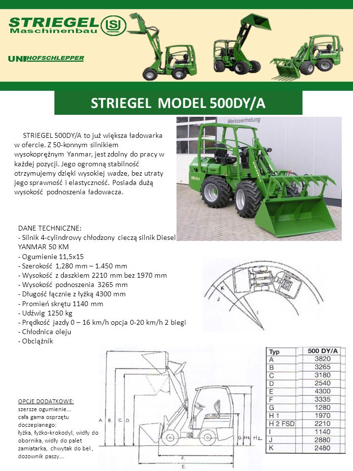 STRIEGEL MODEL 500DY/A