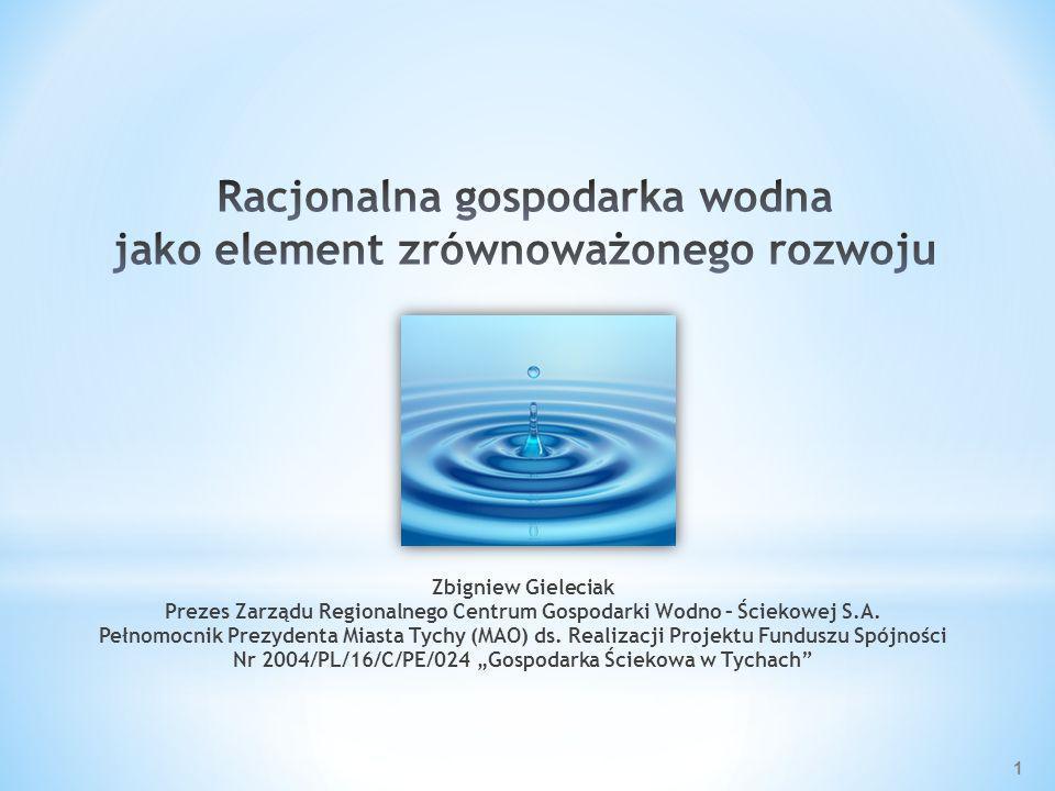 Racjonalna gospodarka wodna jako element zrównoważonego rozwoju