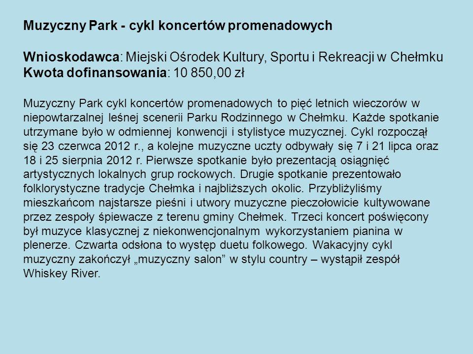 Muzyczny Park - cykl koncertów promenadowych