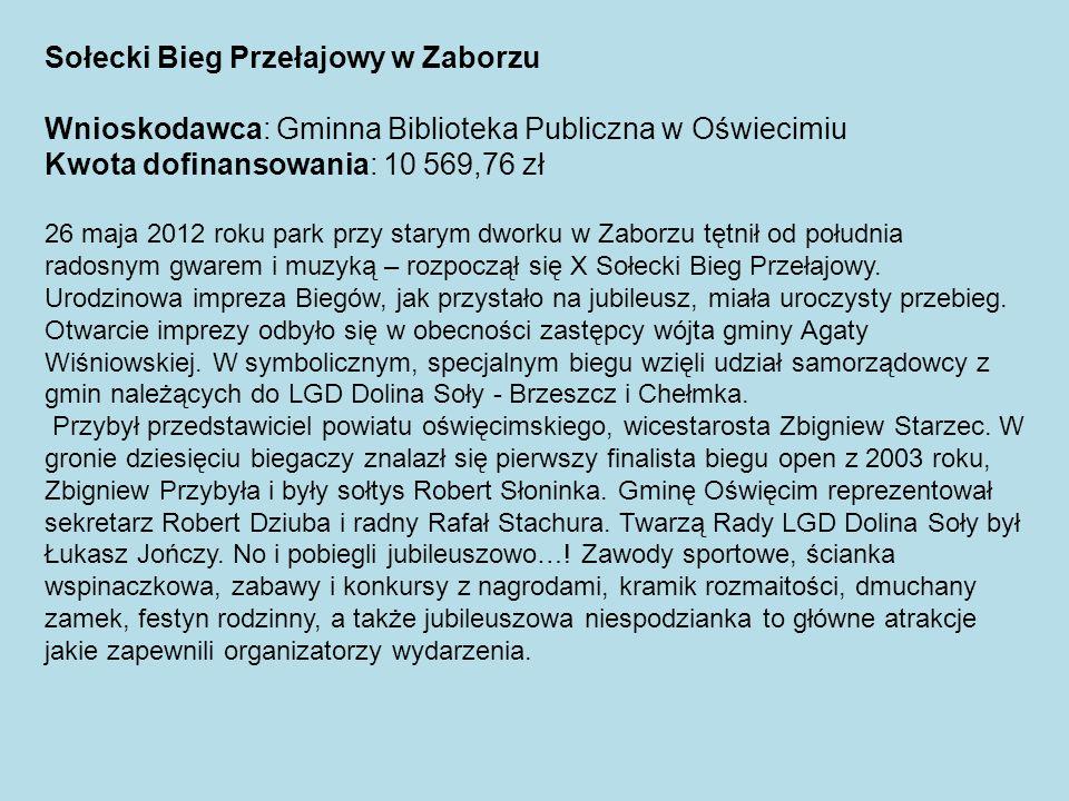 Sołecki Bieg Przełajowy w Zaborzu