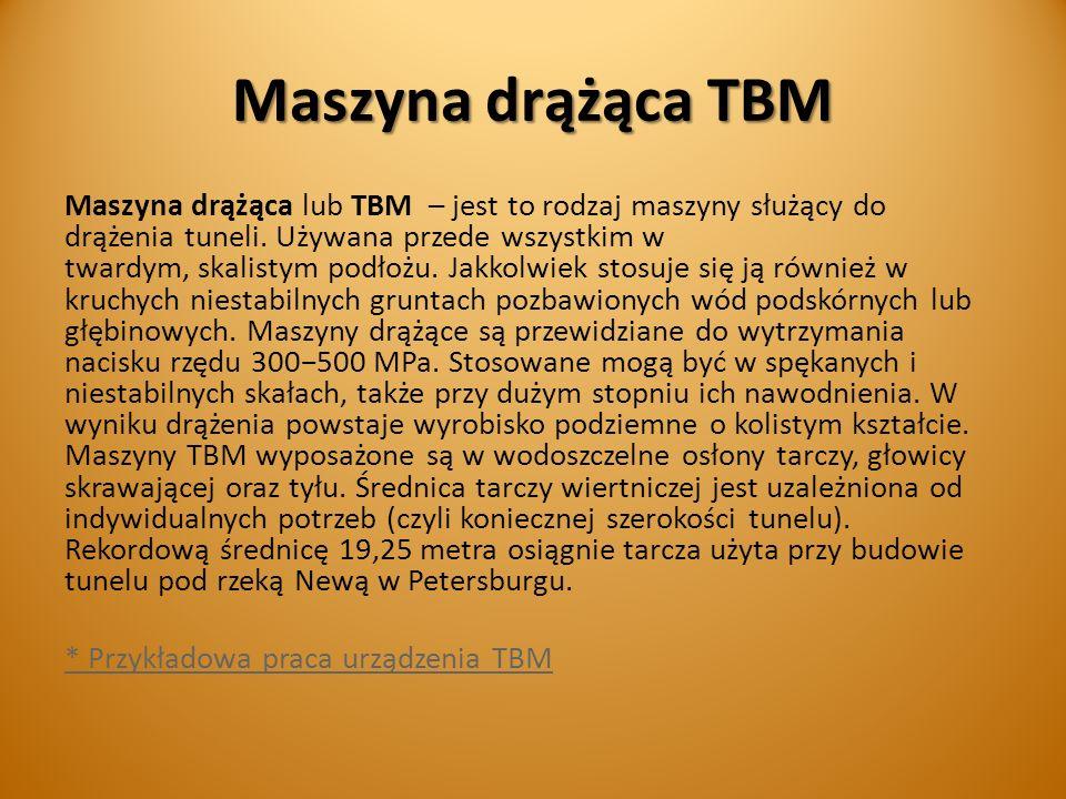 Maszyna drążąca TBM