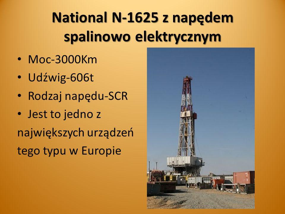 National N-1625 z napędem spalinowo elektrycznym