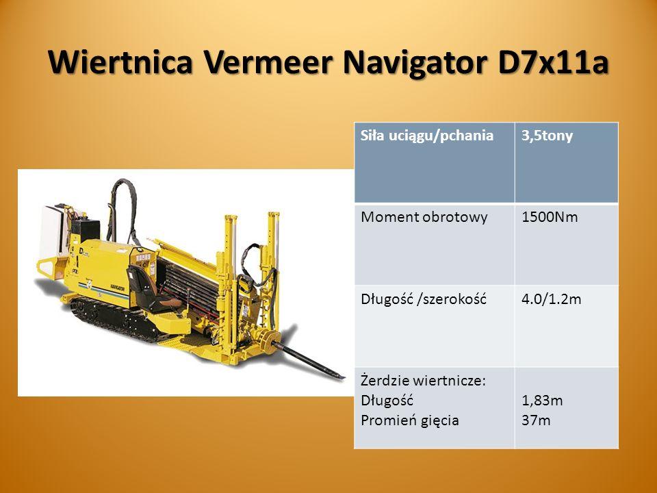 Wiertnica Vermeer Navigator D7x11a