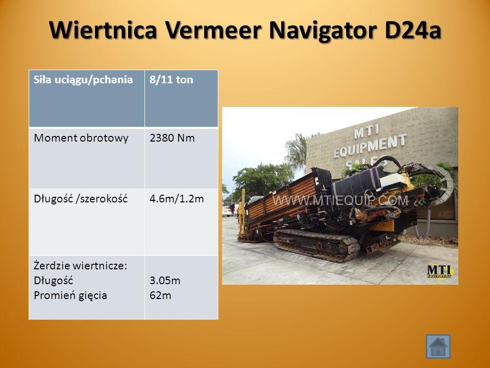 Wiertnica Vermeer Navigator D24a