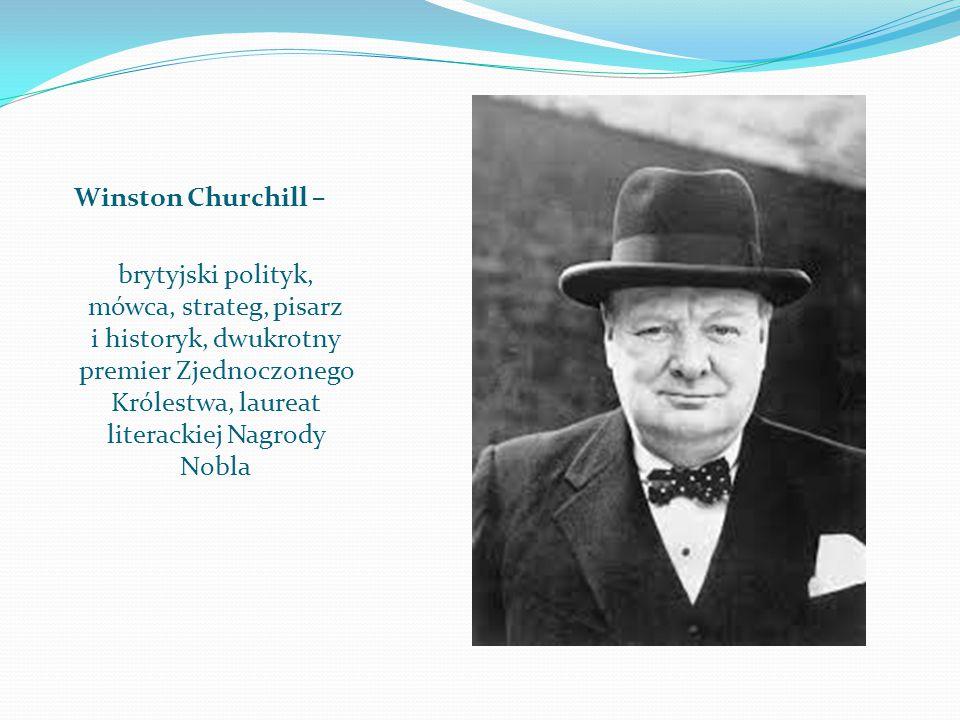 Winston Churchill –