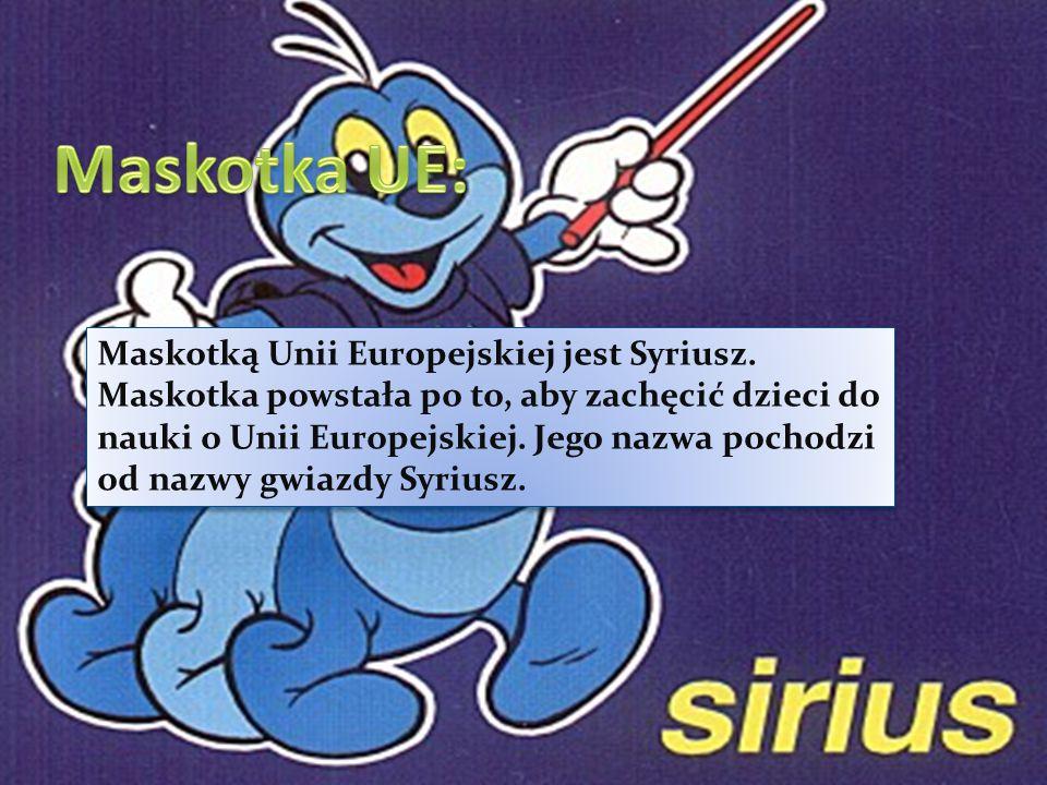 Maskotka UE: