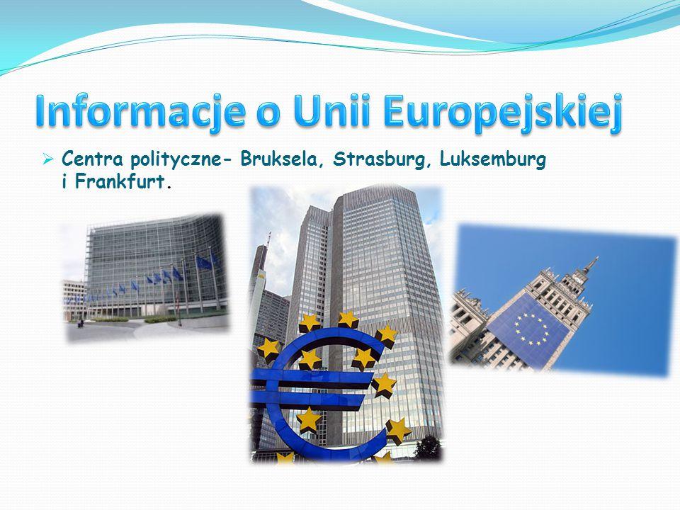 Informacje o Unii Europejskiej