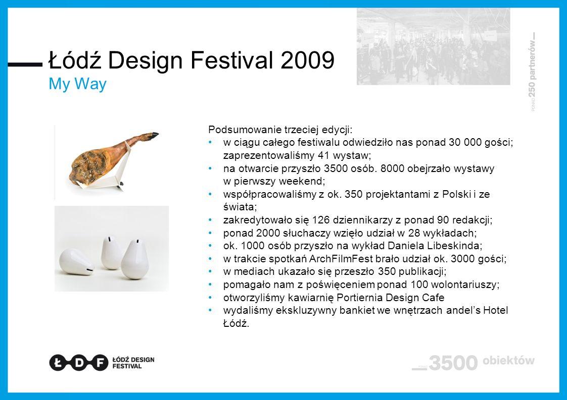 Łódź Design Festival 2009 My Way Podsumowanie trzeciej edycji: