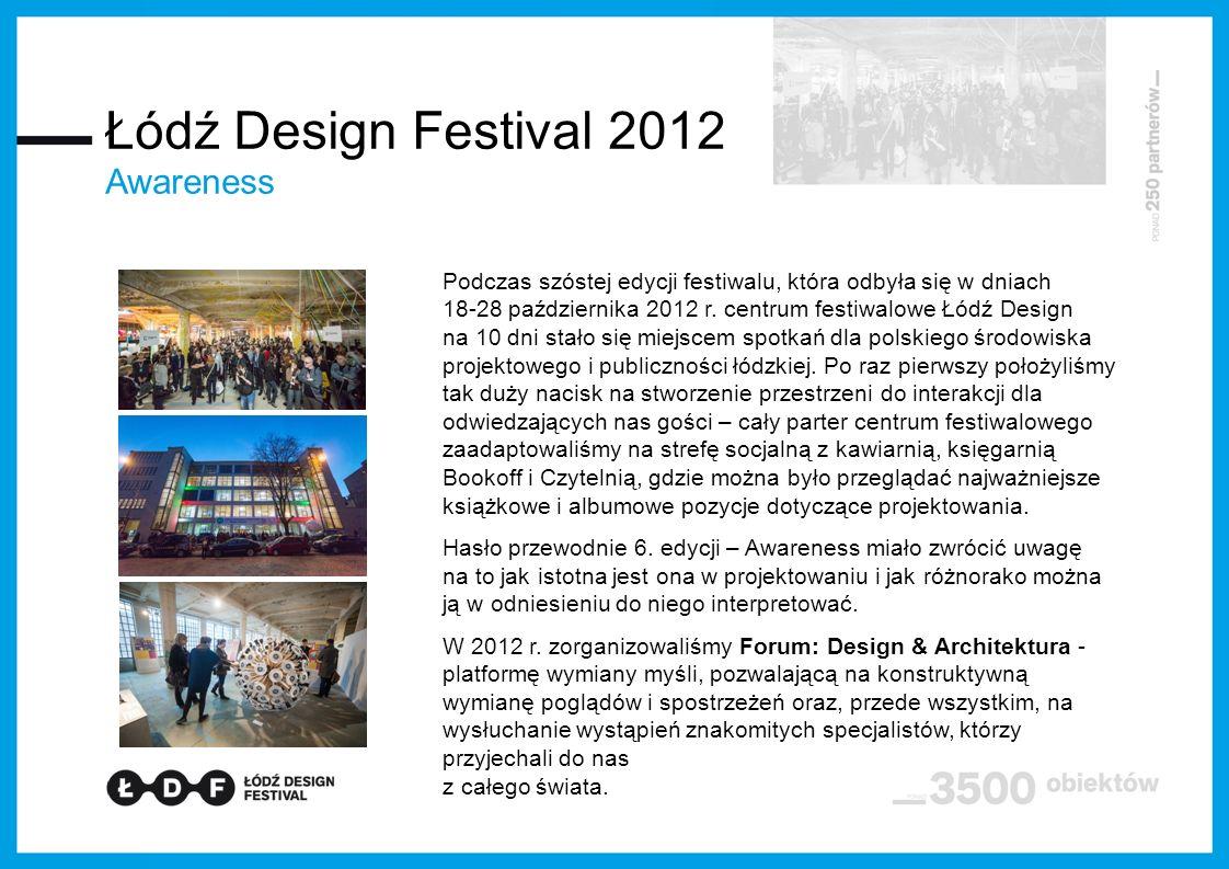 Łódź Design Festival 2012 Awareness