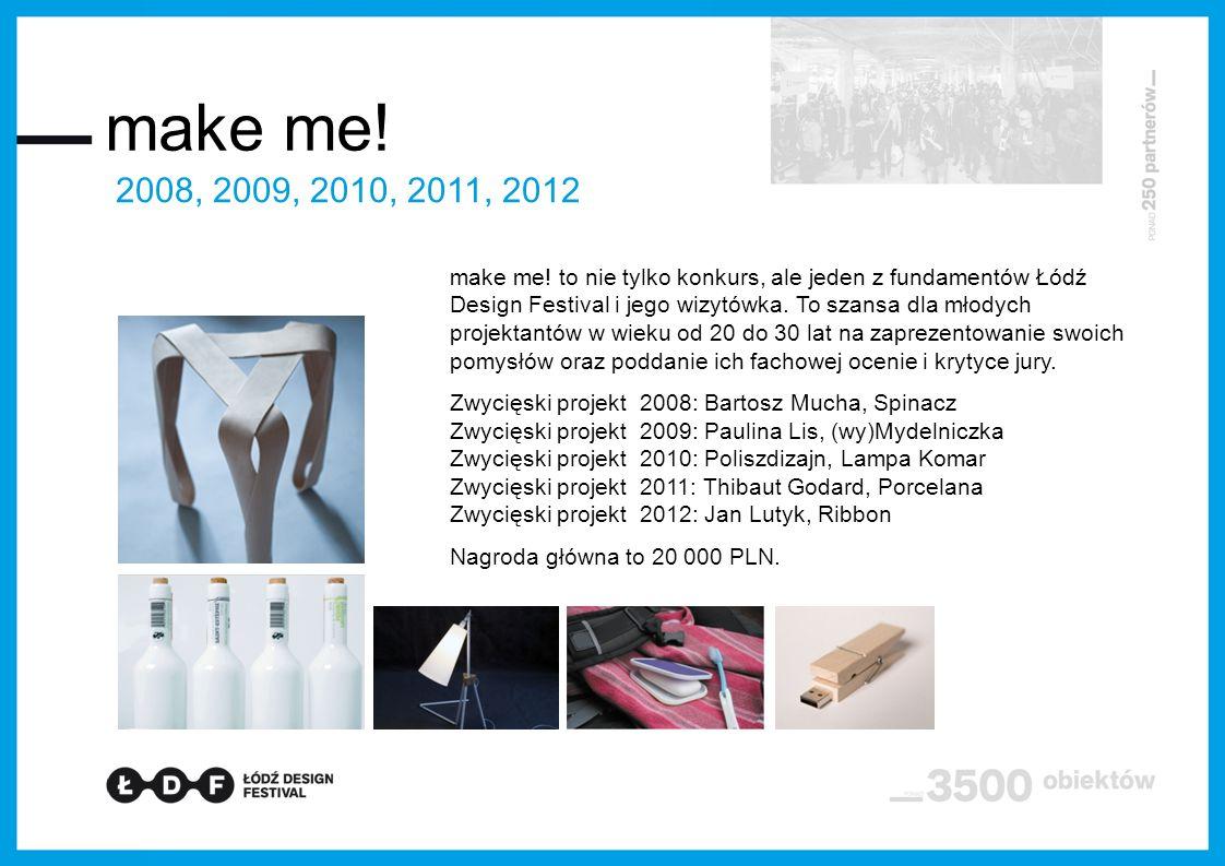 make me! 2008, 2009, 2010, 2011, 2012.