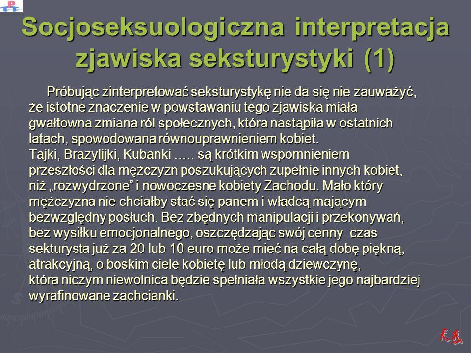 Socjoseksuologiczna interpretacja zjawiska seksturystyki (1)