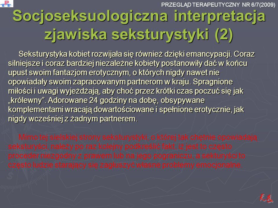Socjoseksuologiczna interpretacja zjawiska seksturystyki (2)