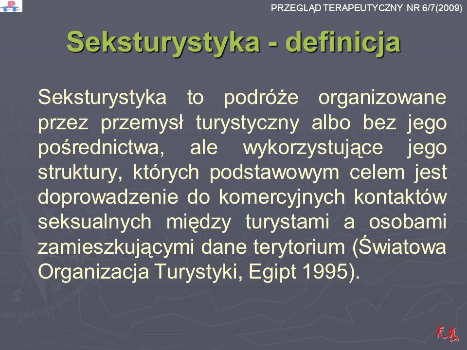 Seksturystyka - definicja