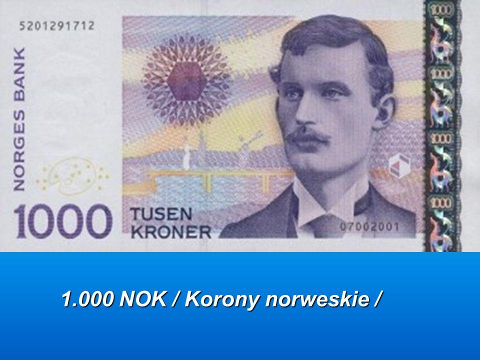1.000 NOK / Korony norweskie /