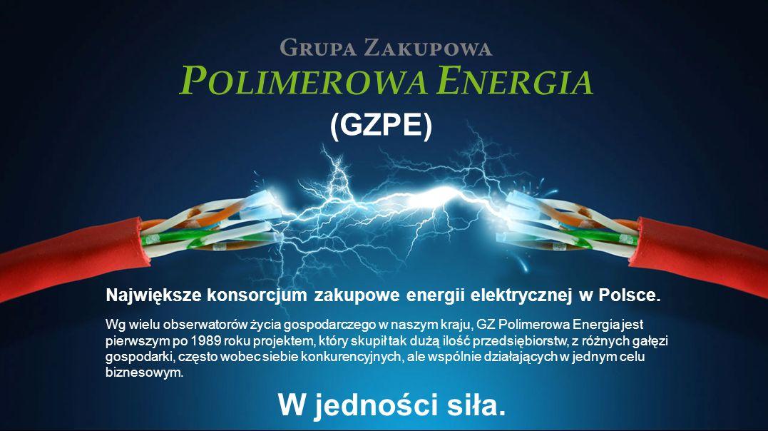 (GZPE) Największe konsorcjum zakupowe energii elektrycznej w Polsce.