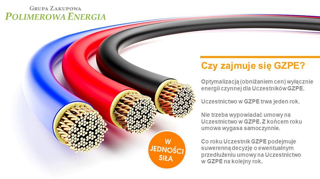 Czy zajmuje się GZPE Optymalizacją (obniżaniem cen) wyłącznie energii czynnej dla Uczestników GZPE.