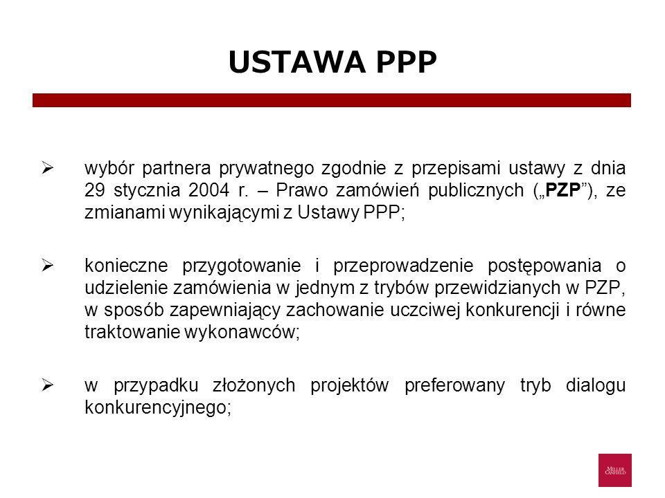 USTAWA PPP