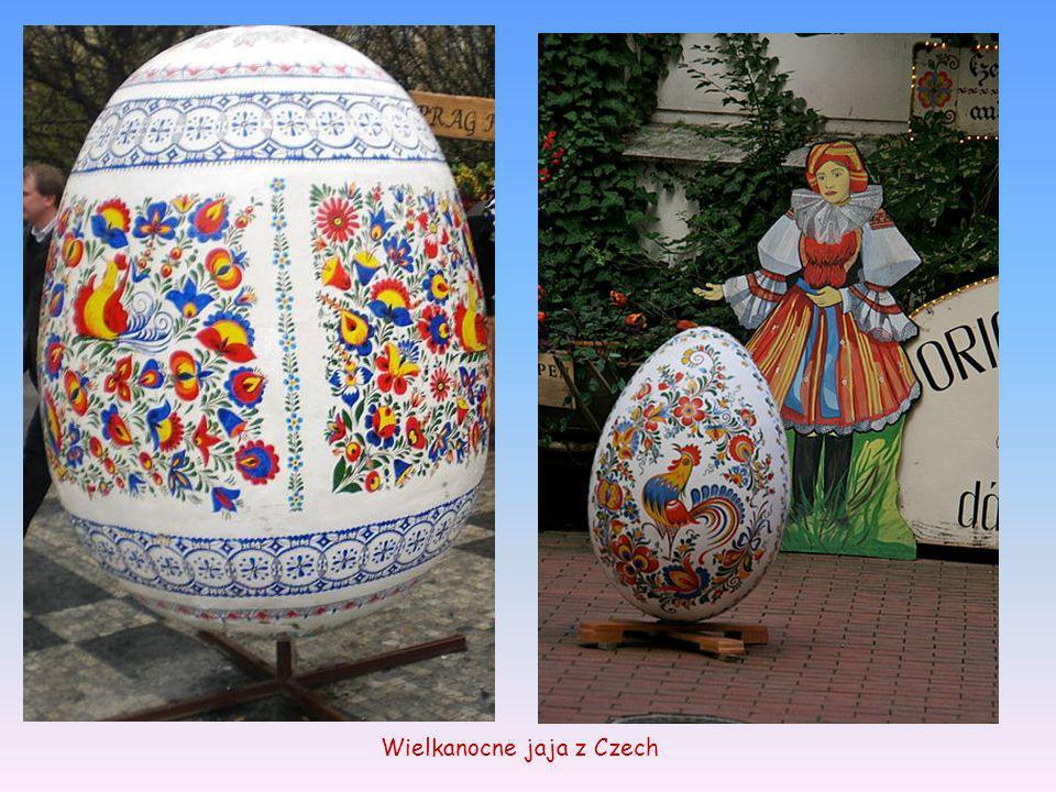 Wielkanocne jaja z Czech