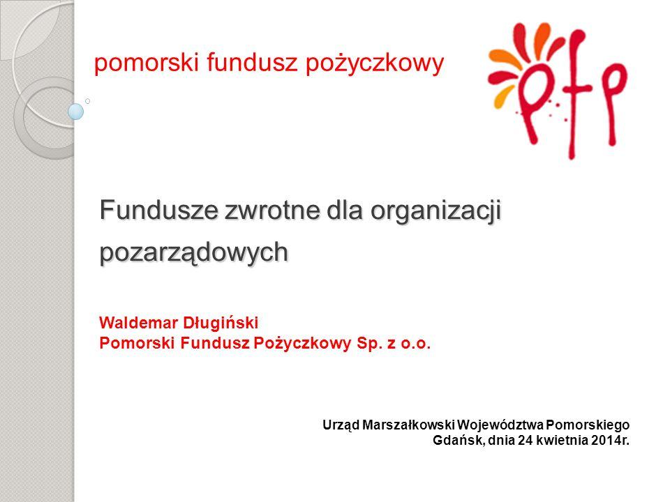 Fundusze zwrotne dla organizacji pozarządowych