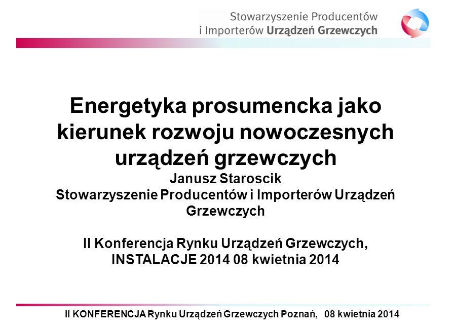 2017-03-30 Energetyka prosumencka jako kierunek rozwoju nowoczesnych urządzeń grzewczych. Janusz Staroscik.