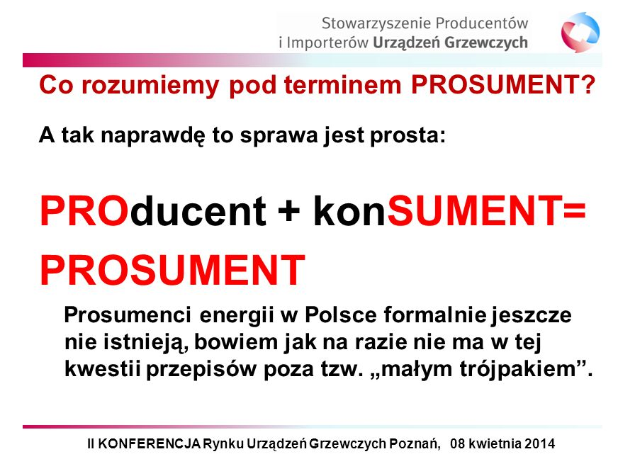 Co rozumiemy pod terminem PROSUMENT
