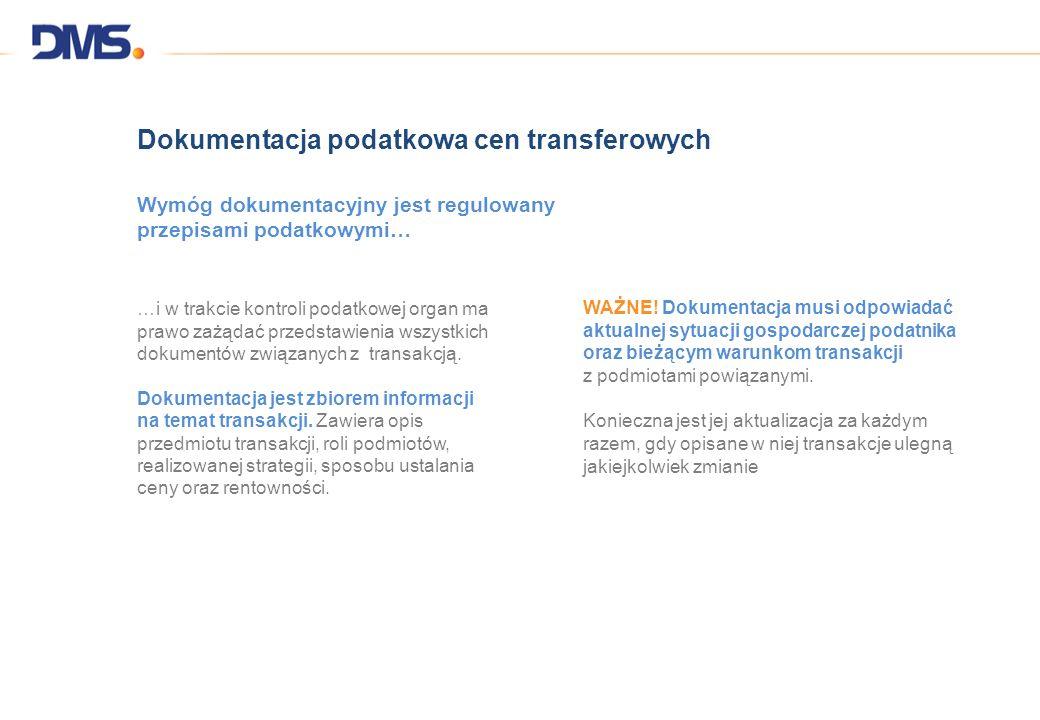 Dokumentacja podatkowa cen transferowych