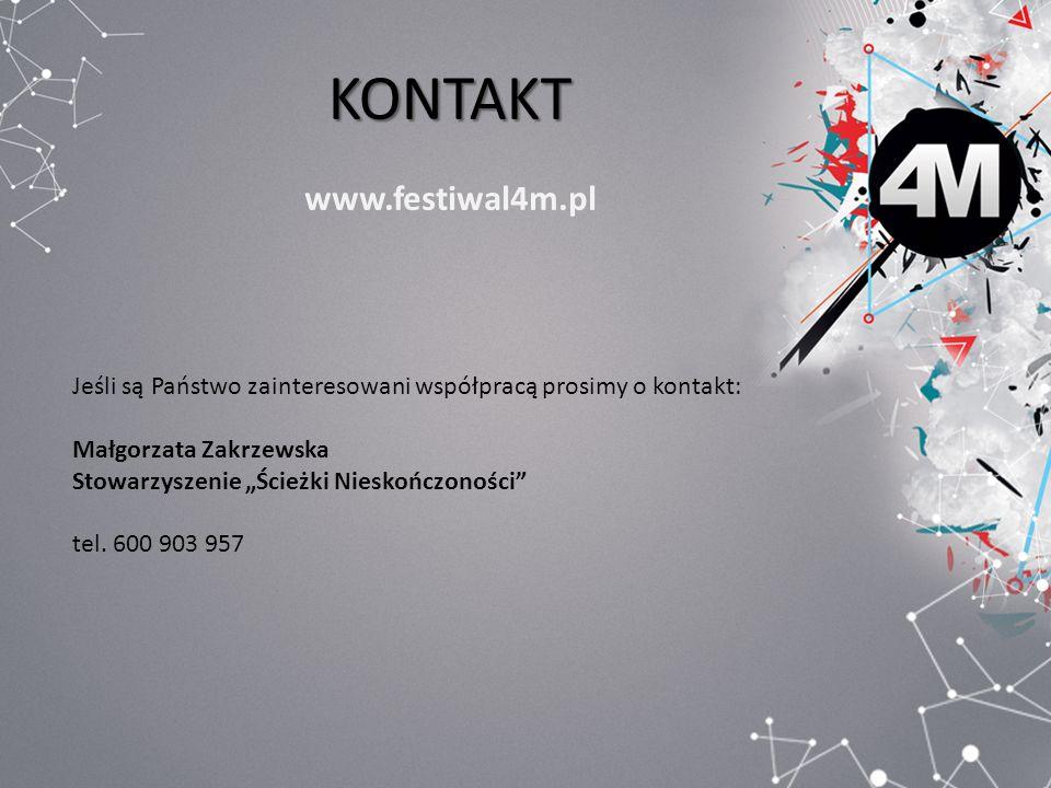 KONTAKT www.festiwal4m.pl