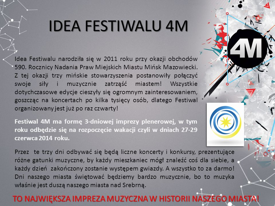 IDEA FESTIWALU 4M
