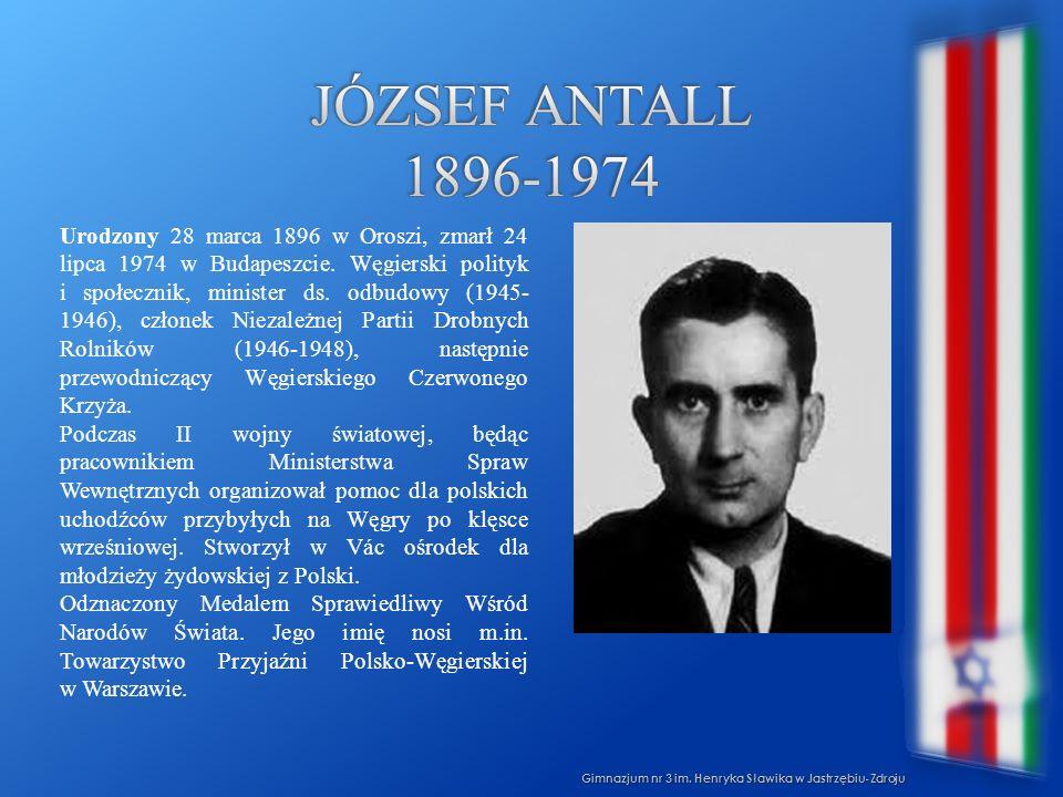 József antall 1896-1974
