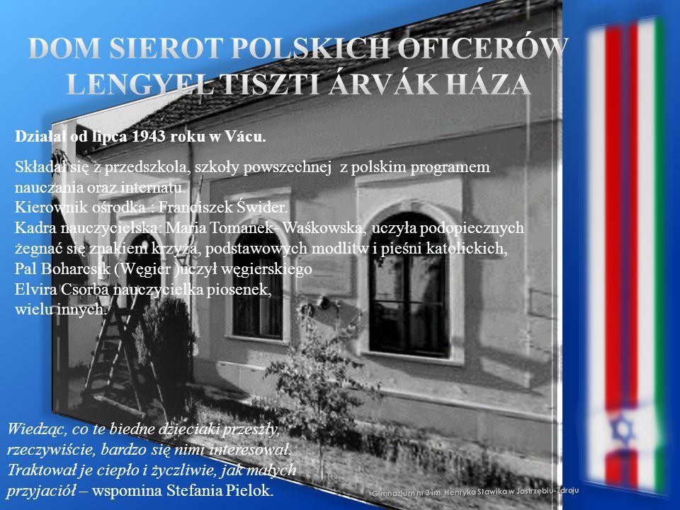 Dom Sierot Polskich Oficerów Lengyel Tiszti ÁrvÁk HÁza