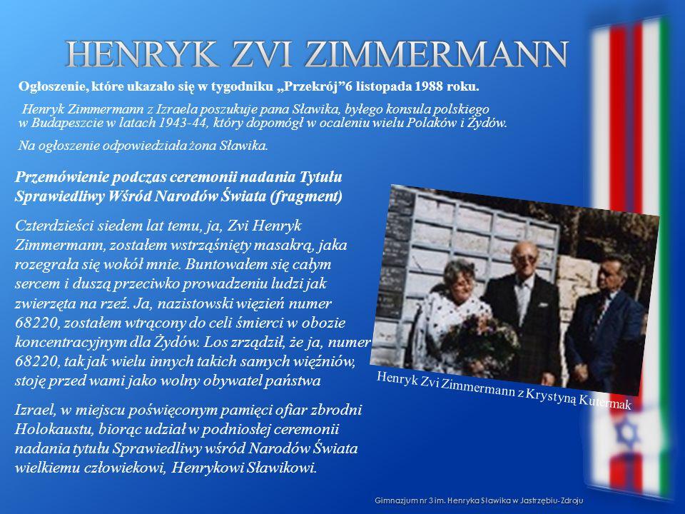 Henryk Zvi Zimmermann