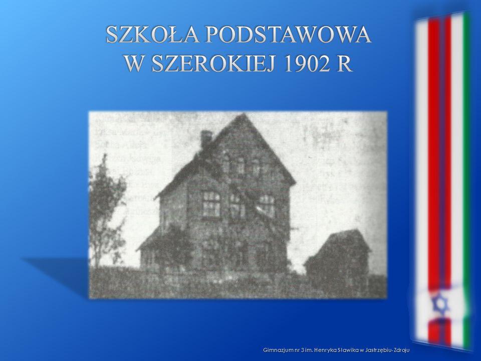 Szkoła podstawowa w szerokiej 1902 R