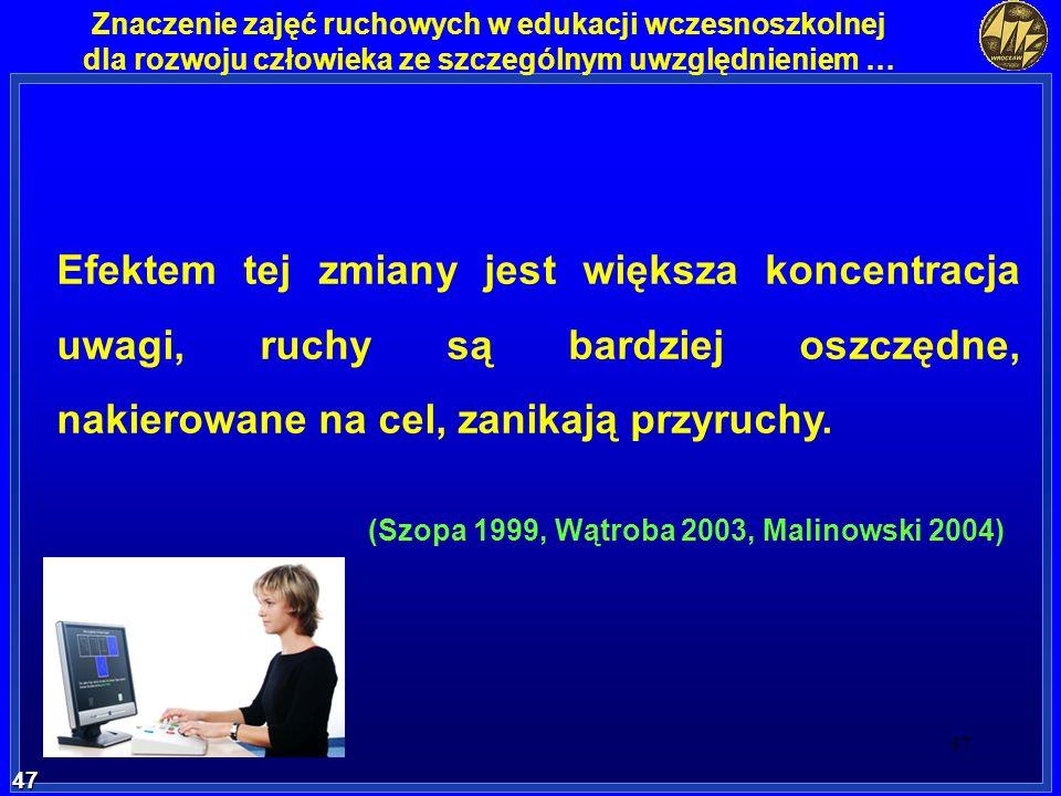 (Szopa 1999, Wątroba 2003, Malinowski 2004)