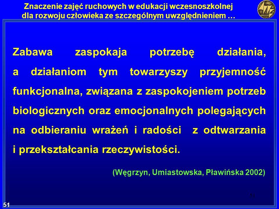 (Węgrzyn, Umiastowska, Pławińska 2002)