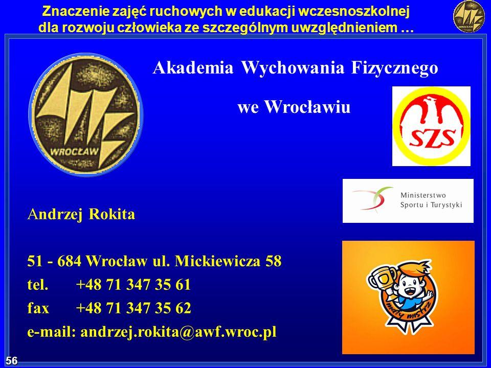 Akademia Wychowania Akademia Wychowania Fizycznego