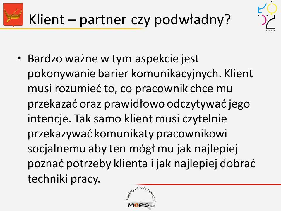 Klient – partner czy podwładny