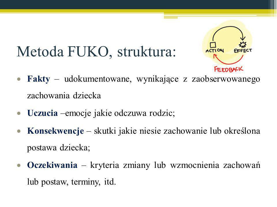 Metoda FUKO, struktura: