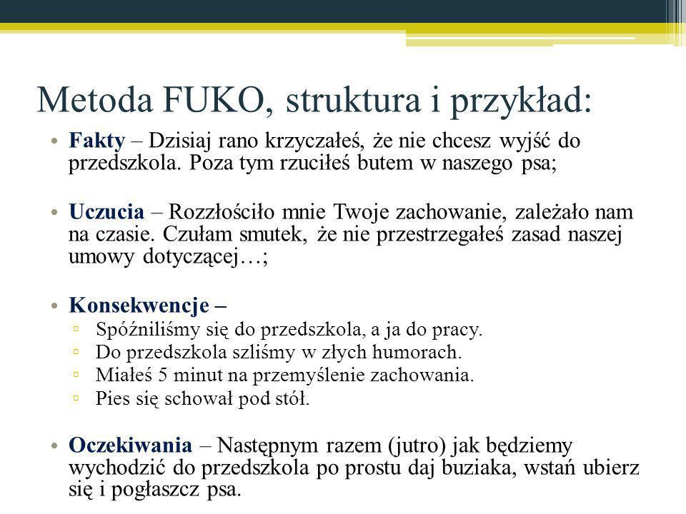 Metoda FUKO, struktura i przykład:
