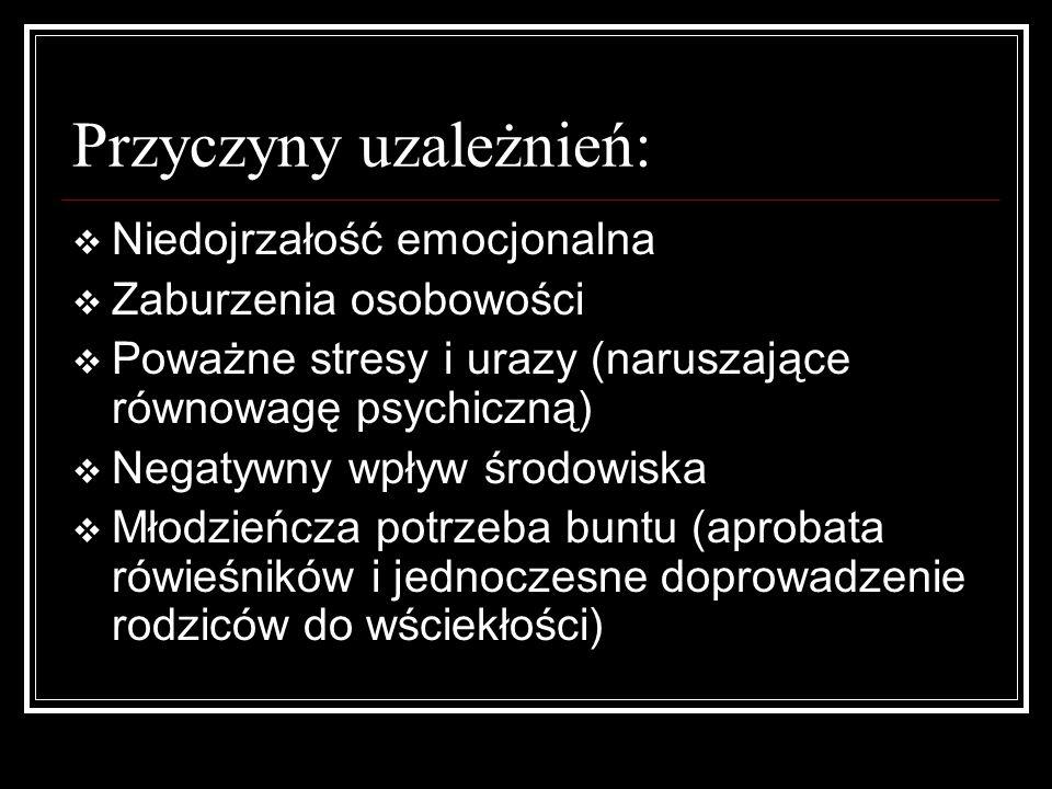 Przyczyny uzależnień: