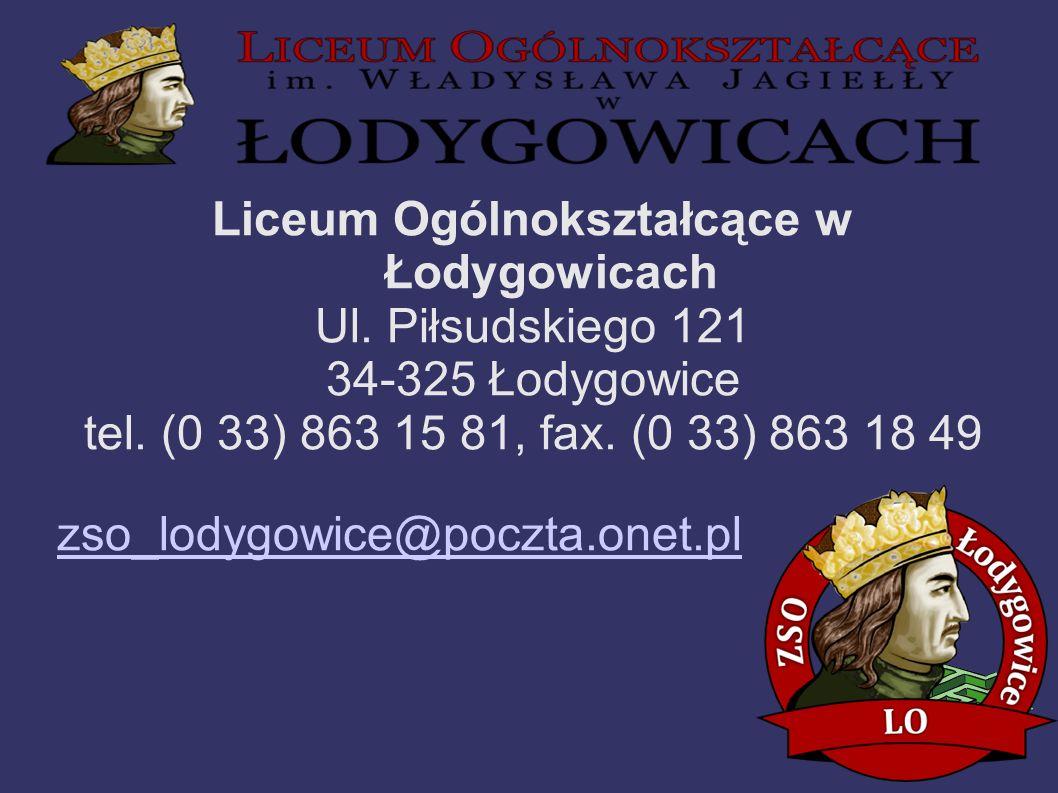 Liceum Ogólnokształcące w Łodygowicach