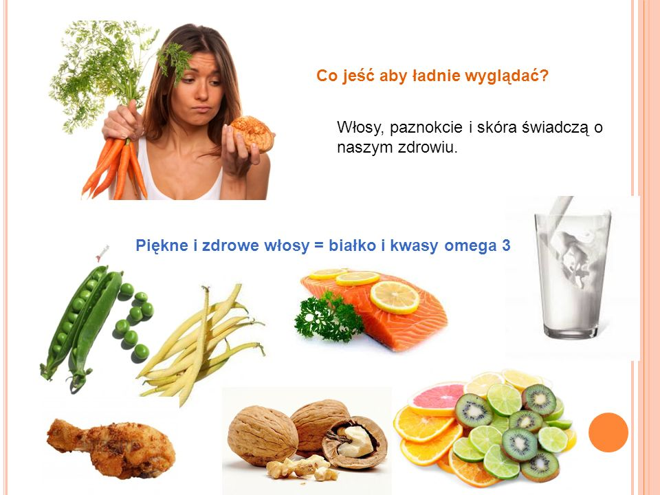 Co jeść aby ładnie wyglądać