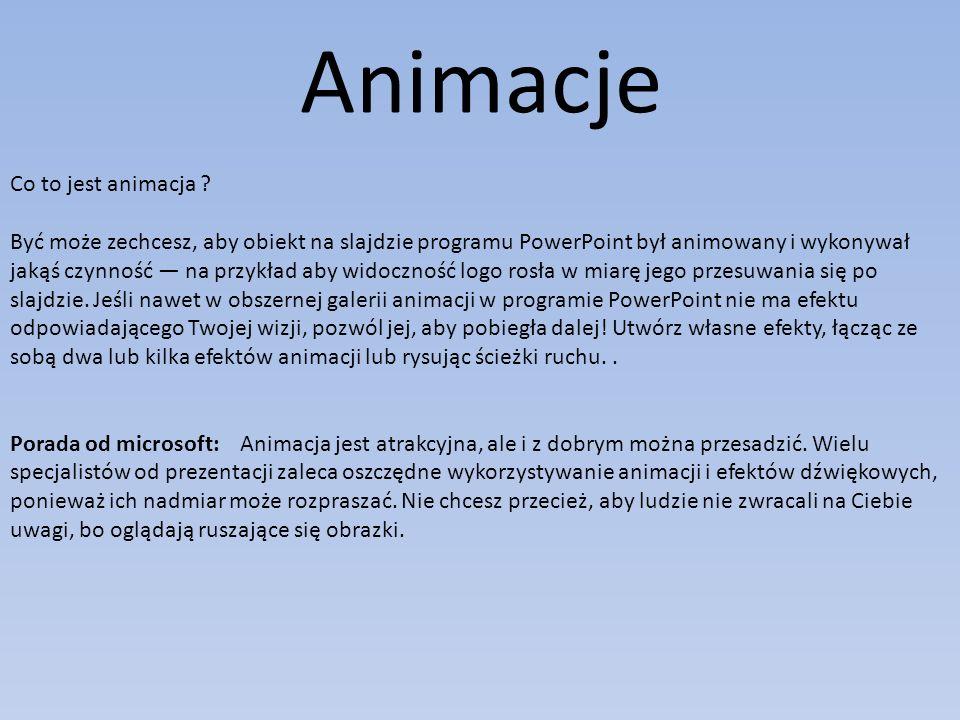 Animacje Co to jest animacja