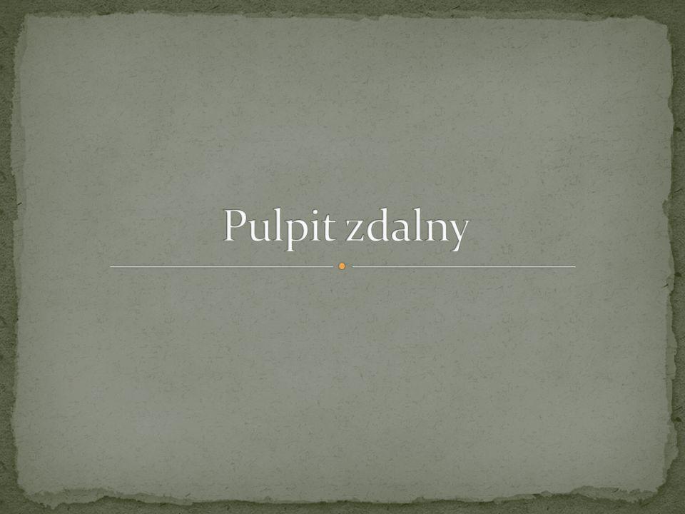 Pulpit zdalny