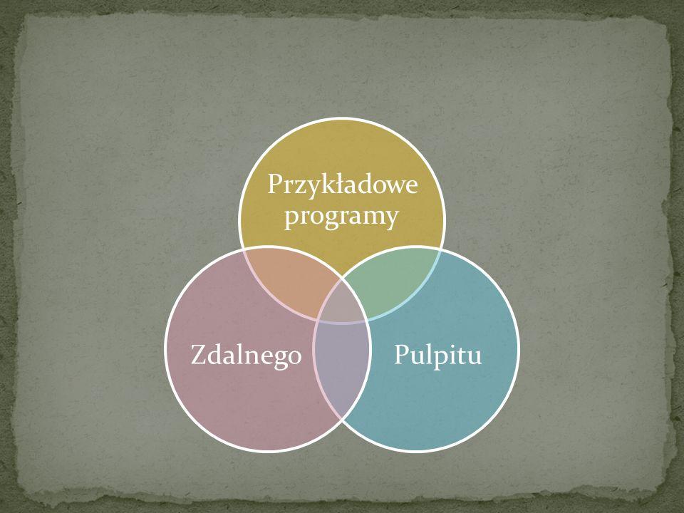 Przykładowe programy Pulpitu Zdalnego