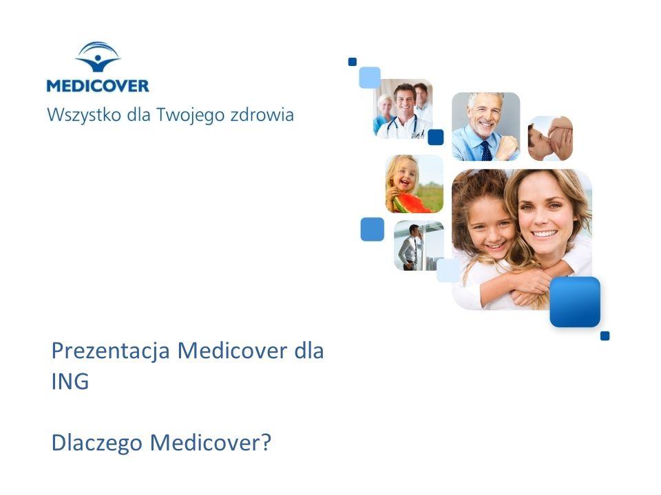 Prezentacja Medicover dla ING Dlaczego Medicover