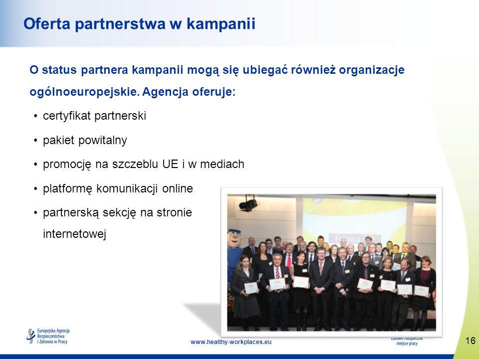 Oferta partnerstwa w kampanii