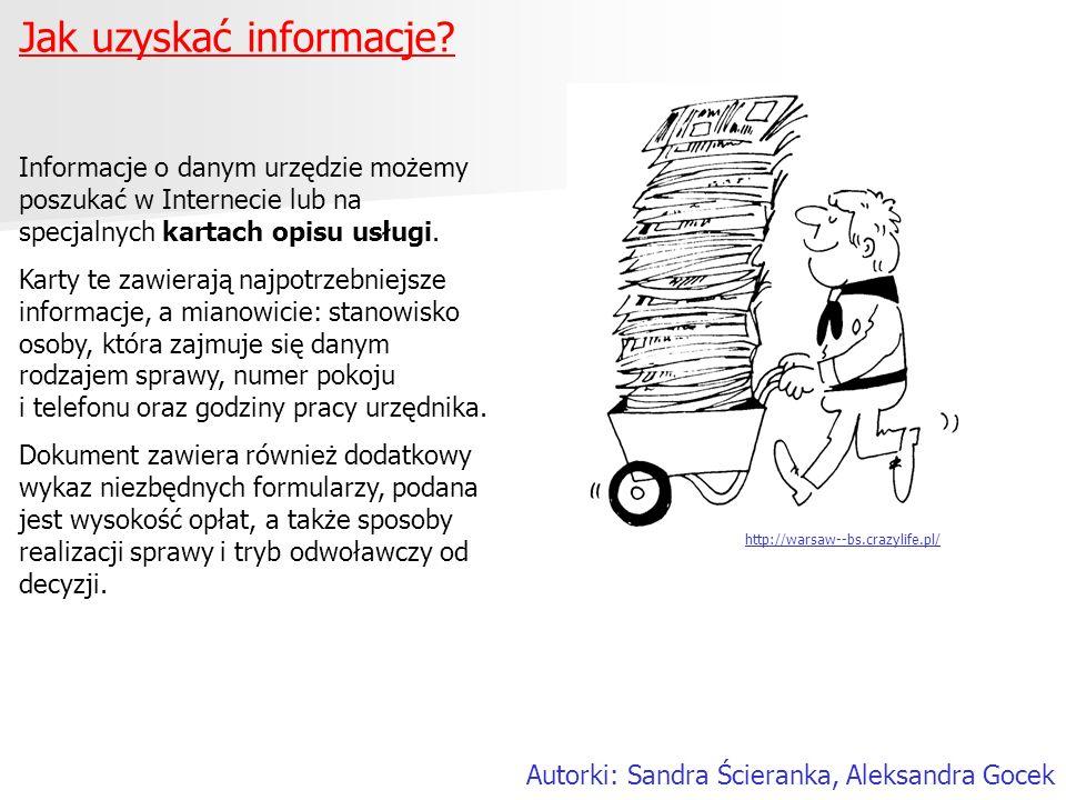 Jak uzyskać informacje
