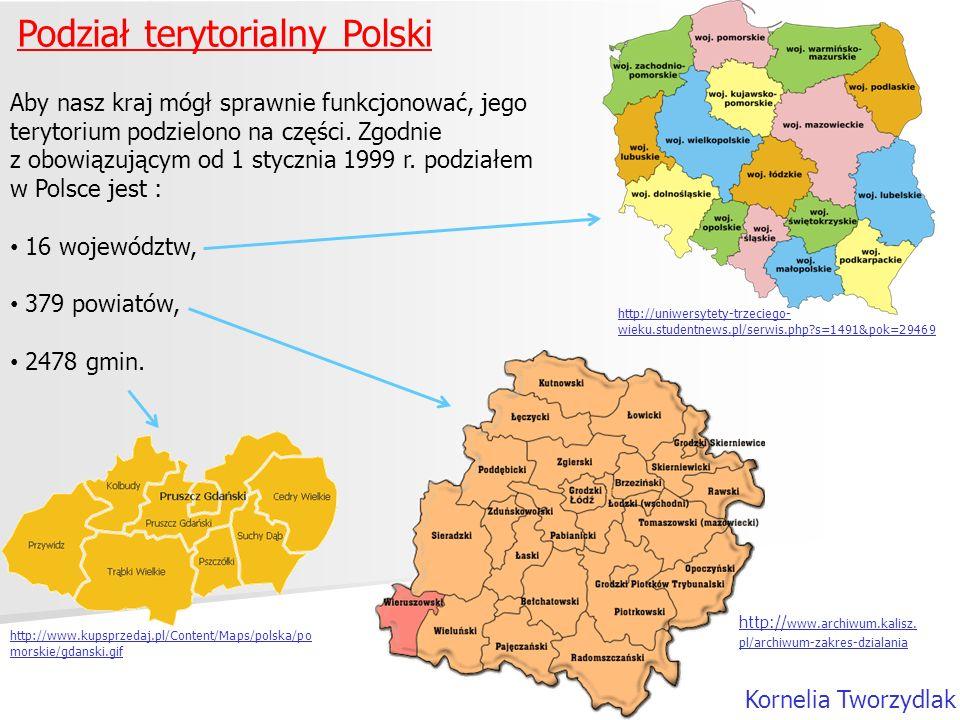 Podział terytorialny Polski