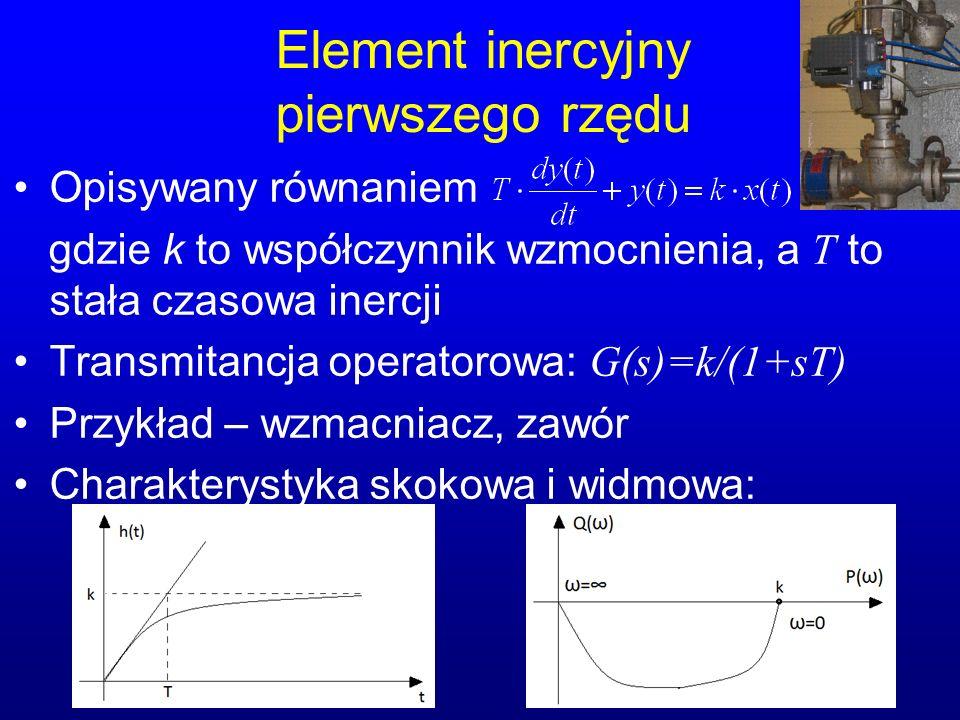Element inercyjny pierwszego rzędu
