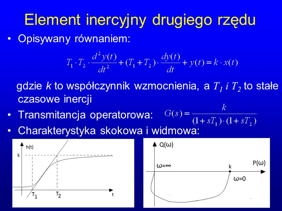 Element inercyjny drugiego rzędu